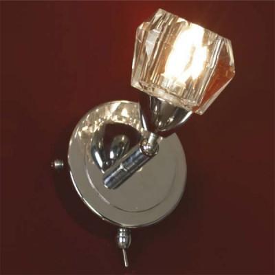 Светильник Lussole LSQ-2001-01 AtripaldaХрустальные<br>Настенное бра Lussole LSQ-2001-01 привлечёт внимание каждого наблюдателя, так как стилизовано под прекрасный аккуратный бриллиант, пропитанный блеском и мерцанием. Вы сможете создать поистине уютный уголок для собственного отдыха, в котором будет царить мягкая роскошь, томное очарование и загадочный шарм. Хромированная конструкция бра Lussole LSQ-2001-01 насыщена прекрасным серебристым мерцанием, дополненным хрустальным блеском, исходящим от гранёного плафона. Используемая для сияния галогенная лампа прослужит Вам долгие надёжные годы, бережно сохраняя Ваши средства. Хрустальное бра Lussole LSQ-2001-01 наполнит приятным уютом любой желанный уголок Вашего неотразимого интерьера!<br><br>S освещ. до, м2: 3<br>Тип лампы: галогенная / LED-светодиодная<br>Тип цоколя: G9<br>Цвет арматуры: серебристый<br>Количество ламп: 1<br>Ширина, мм: 80<br>Расстояние от стены, мм: 140<br>Высота, мм: 112<br>MAX мощность ламп, Вт: 40