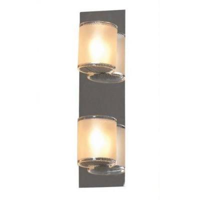 Светильник настенный бра Lussole LSQ-3401-02 CAPPELLOсовременные бра модерн<br>Настенно-потолочные светильники подходят как для установки на стены, так и для установки на потолок. Для установки настенно-потолочные светильники на натяжные потолки необходимо<br><br>S освещ. до, м2: 6<br>Тип лампы: галогенная / LED-светодиодная<br>Тип цоколя: G9<br>Цвет арматуры: серебристый<br>Количество ламп: 2<br>Ширина, мм: 80<br>Расстояние от стены, мм: 90<br>Высота, мм: 260<br>Оттенок (цвет): белый<br>MAX мощность ламп, Вт: 40
