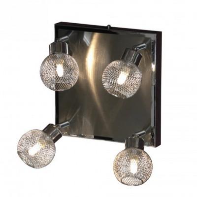 Светильник поворотный спот Lussole LSQ-3601-04 TREIAС 4 лампами<br>Светильники-споты – это оригинальные изделия с современным дизайном. Они позволяют не ограничивать свою фантазию при выборе освещения для интерьера. Такие модели обеспечивают достаточно качественный свет. Благодаря компактным размерам Вы можете использовать несколько спотов для одного помещения. <br>Интернет-магазин «Светодом» предлагает необычный светильник-спот Lussole LSQ-3601-04 по привлекательной цене. Эта модель станет отличным дополнением к люстре, выполненной в том же стиле. Перед оформлением заказа изучите характеристики изделия. <br>Купить светильник-спот Lussole LSQ-3601-04 в нашем онлайн-магазине Вы можете либо с помощью формы на сайте, либо по указанным выше телефонам. Обратите внимание, что у нас склады не только в Москве и Екатеринбурге, но и других городах России.<br><br>S освещ. до, м2: 10<br>Тип лампы: галогенная / LED-светодиодная<br>Тип цоколя: G9<br>Количество ламп: 4<br>Ширина, мм: 330<br>Расстояние от стены, мм: 150<br>Высота, мм: 330<br>MAX мощность ламп, Вт: 40