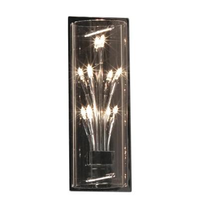 Светильник Lussole LSQ-4001-05 Vitravo хромСовременные<br>LSQ-4001-05<br><br>S освещ. до, м2: 7<br>Тип лампы: галогенная / LED-светодиодная<br>Тип цоколя: G4<br>Количество ламп: 5<br>Ширина, мм: 120<br>MAX мощность ламп, Вт: 10<br>Расстояние от стены, мм: 100<br>Высота, мм: 320<br>Оттенок (цвет): прозрачный<br>Цвет арматуры: серебристый