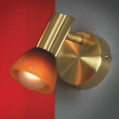 Светильник Lussole LSQ-4191-01 Leggero золотоОдиночные<br>Одиночный светильник-спот Lussole LSQ-4191-01 оттенка «матовое золото» – приятная возможность наполнить отдельные зоны помещения ярким сиянием при минимальной занятости пространства. Маленькие размеры изделия позволят создать целый микс из нескольких источников излучения. Важным функциональным преимуществом светильника Lussole LSQ-4191-01 является наличие поворотного спота, что позволит по-разному обыгрывать распределение потоков сияния. Это выгодно для реализации различных дизайнерских задумок и просто практично. Воспользуйтесь всеми преимуществами универсального светильника Lussole LSQ-4191-01, чтобы и на Ваших просторах был воссоздан оптимальный поток ярких лучей.<br><br>S освещ. до, м2: 3<br>Тип лампы: накал-я - энергосбер-я<br>Тип цоколя: E14<br>Количество ламп: 1<br>Ширина, мм: 80<br>MAX мощность ламп, Вт: 40<br>Расстояние от стены, мм: 170<br>Высота, мм: 110<br>Оттенок (цвет): красный/оранжевый<br>Цвет арматуры: золотой