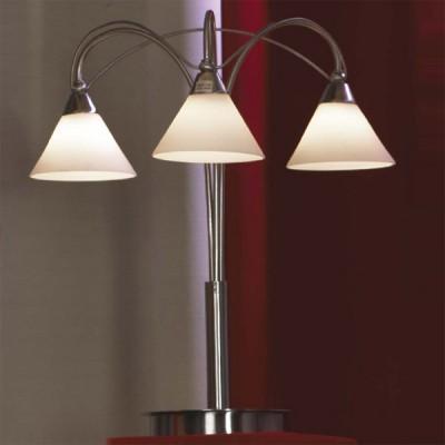 Настольная лампа Lussole LSQ-5804-03 CiampinoСовременные<br>Настольная лампа – это не просто источник дополнительного освещения, но и оригинальный элемент декора. Его можно установить в спальне, гостиной, кабинете и других комнатах. Интернет-магазин «Светодом» предлагает настольные лампы разных стилей по доступным ценам. Благодаря большому ассортименту Вы обязательно найдете в нашем каталоге именно ту модель, которую искали.   Настольная лампа Lussole LSQ-5804-03 – прекрасный вариант для завершения интерьера. Ее можно включить одновременно с люстрой для более яркого освещения или без нее для создания уютной атмосферы, настраивающей на отдых.   Купить настольную лампу Lussole LSQ-5804-03 Вы можете с помощью виртуальной «Корзины» или по контактным номерам, указанным на сайте.<br><br>S освещ. до, м2: 8<br>Тип товара: настольная лампа<br>Тип лампы: галогенная / LED-светодиодная<br>Тип цоколя: G9<br>Количество ламп: 3<br>MAX мощность ламп, Вт: 40<br>Диаметр, мм мм: 400<br>Высота, мм: 450<br>Оттенок (цвет): белый<br>Цвет арматуры: серый