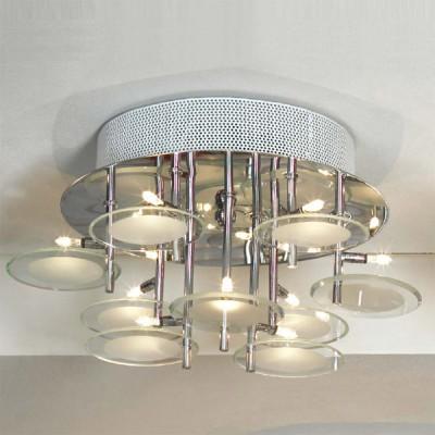 Люстра Lussole LSQ-5907-09 SardaraПотолочные<br>Созданная в Италии, люстра LUSSOLE LSQ-5907-09 Sardara подойдет к интерьеру любого помещения. Она удачно впишется в спальню, создавая мягкий рассеянный свет с помощью плафонов, выполненных из матового белого стекла  также хорошо люстра будет смотреться в гостиной или столовой– благодаря своему современному дизайну, она подчеркнет ваш безупречный вкус. Девять лампочек расположены на разных высотах, поэтому освещение захватывает все уголки комнаты!<br><br>Установка на натяжной потолок: Ограничено<br>S освещ. до, м2: 12<br>Крепление: Планка<br>Тип лампы: галогенная / LED-светодиодная<br>Тип цоколя: G4<br>Количество ламп: 9<br>MAX мощность ламп, Вт: 20<br>Диаметр, мм мм: 380<br>Высота, мм: 200<br>Цвет арматуры: серебристый