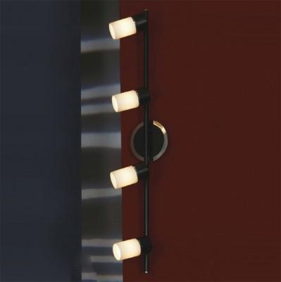 Светильник Lussole LSQ-6109-04 SiliquaС 4 лампами<br>Яркий и эффектный светильник Lussole LSQ-6109-04 Siliqua придется по вкусу всем ценителям современных, оригинальных предметов в интерьере! «Минималистичный», с гармонично сочетающимися контрастными оттенками черного и белого, он прекрасно впишется в помещение в стиле «модерн» или «хай-тек». Все 4 плафона имеют поворотный механизм, а значит, Вы легко сможете регулировать направление светового потока, создавая акценты или «скрывая» необходимые участки комнаты. Площадь освещения достигает 11 кв.м., поэтому светильник можно использовать и в качестве настенного и в качестве потолочного. В интерьере желательно, чтобы цветовая гамма состояла из аналогичных – черных и белых тонов с добавлением не более трех контрастных оттенков в небольших аксессуарах, тогда пространство будет выглядеть «единым», стильным и уютным.<br><br>S освещ. до, м2: 11<br>Тип лампы: галогенная / LED-светодиодная<br>Тип цоколя: G9<br>Количество ламп: 4<br>Ширина, мм: 110<br>MAX мощность ламп, Вт: 40<br>Длина, мм: 690<br>Расстояние от стены, мм: 180<br>Оттенок (цвет): белый<br>Цвет арматуры: серебристый