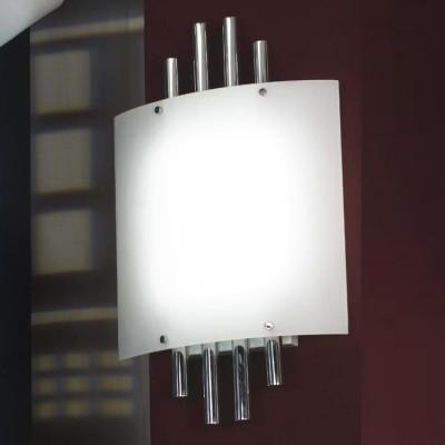 Светильник настенный бра Lussole LSQ-6202-04 CAPOTERRAХай-тек<br>Настенно потолочный светильник Lussole (Люссоль) LSQ-6202-04 подходит как для установки в вертикальном положении - на стены, так и для установки в горизонтальном - на потолок. Для установки настенно потолочных светильников на натяжной потолок необходимо<br><br>S освещ. до, м2: 3<br>Тип лампы: галогенная / LED-светодиодная<br>Тип цоколя: G5<br>Цвет арматуры: серебристый<br>Количество ламп: 4<br>Ширина, мм: 400<br>Длина, мм: 650<br>Расстояние от стены, мм: 100<br>Оттенок (цвет): белый<br>MAX мощность ламп, Вт: 8
