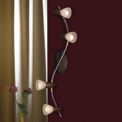 Светильник Lussole LSQ-6409-04 Cisterno хромС 4 лампами<br>Светильники-споты – это оригинальные изделия с современным дизайном. Они позволяют не ограничивать свою фантазию при выборе освещения для интерьера. Такие модели обеспечивают достаточно качественный свет. Благодаря компактным размерам Вы можете использовать несколько спотов для одного помещения.  Интернет-магазин «Светодом» предлагает необычный светильник-спот Lussole LSQ-6409-04 по привлекательной цене. Эта модель станет отличным дополнением к люстре, выполненной в том же стиле. Перед оформлением заказа изучите характеристики изделия.  Купить светильник-спот Lussole LSQ-6409-04 в нашем онлайн-магазине Вы можете либо с помощью формы на сайте, либо по указанным выше телефонам. Обратите внимание, что у нас склады не только в Москве и Екатеринбурге, но и других городах России.<br><br>S освещ. до, м2: 11<br>Тип лампы: накал-я - энергосбер-я<br>Тип цоколя: E14<br>Количество ламп: 4<br>Ширина, мм: 14<br>MAX мощность ламп, Вт: 40<br>Длина, мм: 81<br>Расстояние от стены, мм: 20<br>Цвет арматуры: серебристый