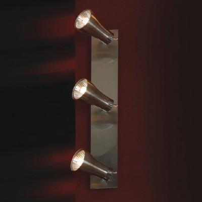 Светильник Lussole LSQ-7901-03 Chiarzo матовый никельТройные<br>Светильники-споты – это оригинальные изделия с современным дизайном. Они позволяют не ограничивать свою фантазию при выборе освещения для интерьера. Такие модели обеспечивают достаточно качественный свет. Благодаря компактным размерам Вы можете использовать несколько спотов для одного помещения.  Интернет-магазин «Светодом» предлагает необычный светильник-спот Lussole LSQ-7901-03 по привлекательной цене. Эта модель станет отличным дополнением к люстре, выполненной в том же стиле. Перед оформлением заказа изучите характеристики изделия.  Купить светильник-спот Lussole LSQ-7901-03 в нашем онлайн-магазине Вы можете либо с помощью формы на сайте, либо по указанным выше телефонам. Обратите внимание, что у нас склады не только в Москве и Екатеринбурге, но и других городах России.<br><br>S освещ. до, м2: 8<br>Тип лампы: галогенная / LED-светодиодная<br>Тип цоколя: G9<br>Количество ламп: 3<br>Ширина, мм: 9<br>MAX мощность ламп, Вт: 40<br>Длина, мм: 30<br>Расстояние от стены, мм: 12<br>Цвет арматуры: серый