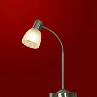 Настольная лампа Lussole LSQ-8494-01 AViano матовый никельСовременные<br>Лаконичность исполнения и аккуратная эстетика – вот составляющие стиля декоративной настольной лампы серии AViano. Никаких лишних деталей, только тонкая изогнутая ножка голубовато-стального оттенка и округлый белый плафон. Создайте небольшую зону мягкого света, чтобы выделить уголки спокойствия и уюта в спальне, гостиной, прихожей, гардеробной или библиотеке. Освещение в стиле AViano ни к чему не обязывает, оно лишь гармонично вписывается и дополняет любой интерьер. А мы, в свою очередь, подарим доставку.<br><br>S освещ. до, м2: 2<br>Тип лампы: галогенная / LED-светодиодная<br>Количество ламп: 1<br>Ширина, мм: 26<br>Длина, мм: 33<br>Расстояние от стены, мм: 12<br>Цвет арматуры: серый