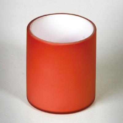 Плафон к светильнику LUSSOLE LSQ-8600-00 IMPERIA матовый красныйПлафоны<br><br><br>Диаметр, мм мм: 50<br>Высота, мм: 70<br>Оттенок (цвет): красный