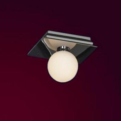 Светильник настенно-потолочный Lussole LSQ-8901-01 MALTAкруглые светильники<br>Настенно потолочный светильник Lussole (Люссоль) LSQ-8901-01  подходит как для установки в вертикальном положении - на стены, так и для установки в горизонтальном - на потолок. Для установки настенно потолочных светильников на натяжной потолок необходимо использовать светодиодные лампы LED, которые экономнее ламп Ильича (накаливания) в 10 раз, выделяют мало тепла и не дадут расплавиться Вашему потолку.<br><br>S освещ. до, м2: 3<br>Тип лампы: галогенная / LED-светодиодная<br>Тип цоколя: G9<br>Цвет арматуры: серебристый<br>Количество ламп: 1<br>Ширина, мм: 150<br>Расстояние от стены, мм: 120<br>Высота, мм: 130<br>Оттенок (цвет): белый<br>MAX мощность ламп, Вт: 40