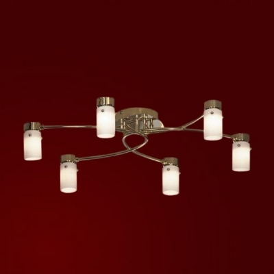 Люстра Lussole LSQ-9217-06 Bari золотоПотолочные<br><br><br>Установка на натяжной потолок: Ограничено<br>S освещ. до, м2: 16<br>Крепление: Планка<br>Тип лампы: галогенная / LED-светодиодная<br>Тип цоколя: G9<br>Количество ламп: 6<br>MAX мощность ламп, Вт: 40<br>Длина, мм: 600<br>Высота, мм: 140<br>Оттенок (цвет): белый<br>Цвет арматуры: золотой