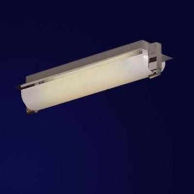 Светильник Lussole LSQ-9451-02 CuNeo хромДлинные<br>Настенно потолочный светильник Lussole (Люссоль) LSQ-9451-02 подходит как для установки в вертикальном положении - на стены, так и для установки в горизонтальном - на потолок. Для установки настенно потолочных светильников на натяжной потолок необходимо использовать светодиодные лампы LED, которые экономнее ламп Ильича (накаливания) в 10 раз, выделяют мало тепла и не дадут расплавиться Вашему потолку.<br><br>S освещ. до, м2: 3<br>Тип лампы: люминесцентная<br>Тип цоколя: G5<br>Количество ламп: 2<br>Ширина, мм: 100<br>MAX мощность ламп, Вт: 8<br>Расстояние от стены, мм: 70<br>Высота, мм: 350<br>Оттенок (цвет): белый<br>Цвет арматуры: серебристый