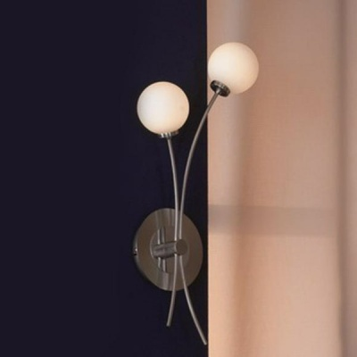 Светильник lsp-9712Модерн<br>LSQ-9701-02<br><br>S освещ. до, м2: 6<br>Тип лампы: галогенная / LED-светодиодная<br>Тип цоколя: G9<br>Количество ламп: 2<br>Ширина, мм: 250<br>MAX мощность ламп, Вт: 40<br>Расстояние от стены, мм: 90<br>Высота, мм: 470<br>Оттенок (цвет): белый<br>Цвет арматуры: серый