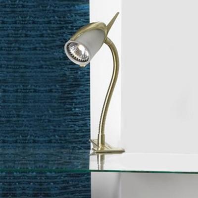Светильник поворотный спот Lussole LST-3904-01 VENEZIAНа прищепке<br>Светильники-споты – это оригинальные изделия с современным дизайном. Они позволяют не ограничивать свою фантазию при выборе освещения для интерьера. Такие модели обеспечивают достаточно качественный свет. Благодаря компактным размерам Вы можете использовать несколько спотов для одного помещения. <br>Интернет-магазин «Светодом» предлагает необычный светильник-спот Lussole LST-3904-01 по привлекательной цене. Эта модель станет отличным дополнением к люстре, выполненной в том же стиле. Перед оформлением заказа изучите характеристики изделия. <br>Купить светильник-спот Lussole LST-3904-01 в нашем онлайн-магазине Вы можете либо с помощью формы на сайте, либо по указанным выше телефонам. Обратите внимание, что у нас склады не только в Москве и Екатеринбурге, но и других городах России.<br><br>S освещ. до, м2: 4<br>Тип лампы: галогенная / LED-светодиодная<br>Тип цоколя: GU10<br>Цвет арматуры: золотой<br>Количество ламп: 1<br>Ширина, мм: 60<br>Высота, мм: 350<br>MAX мощность ламп, Вт: 50