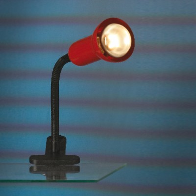 Настольная лампа на прищепке Lussole lst-4534-01На прищепке<br>Настольная лампа – это не просто источник дополнительного освещения, но и оригинальный элемент декора. Его можно установить в спальне, гостиной, кабинете и других комнатах. Интернет-магазин «Светодом» предлагает настольные лампы разных стилей по доступным ценам. Благодаря большому ассортименту Вы обязательно найдете в нашем каталоге именно ту модель, которую искали.   Настольная лампа Lussole LST-4534-01 – прекрасный вариант для завершения интерьера. Ее можно включить одновременно с люстрой для более яркого освещения или без нее для создания уютной атмосферы, настраивающей на отдых.   Купить настольную лампу Lussole LST-4534-01 Вы можете с помощью виртуальной «Корзины» или по контактным номерам, указанным на сайте.<br><br>S освещ. до, м2: 3<br>Тип лампы: накаливания / энергосбережения / LED-светодиодная<br>Тип цоколя: R50<br>Цвет арматуры: красный<br>Количество ламп: 1<br>Ширина, мм: 110<br>Высота, мм: 370<br>MAX мощность ламп, Вт: 40