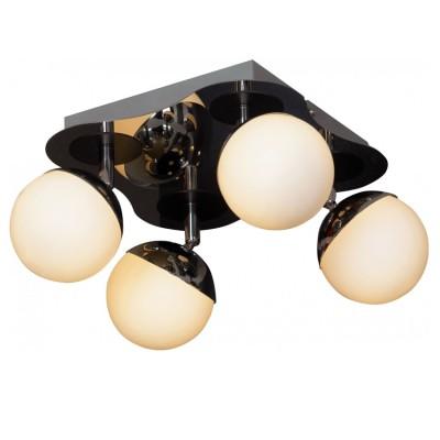 Светильник Lussole LSX-4901-04С 4 лампами<br>Светильники-споты – это оригинальные изделия с современным дизайном. Они позволяют не ограничивать свою фантазию при выборе освещения для интерьера. Такие модели обеспечивают достаточно качественный свет. Благодаря компактным размерам Вы можете использовать несколько спотов для одного помещения.  Интернет-магазин «Светодом» предлагает необычный светильник-спот Lussole LSX-4901-04 по привлекательной цене. Эта модель станет отличным дополнением к люстре, выполненной в том же стиле. Перед оформлением заказа изучите характеристики изделия.  Купить светильник-спот Lussole LSX-4901-04 в нашем онлайн-магазине Вы можете либо с помощью формы на сайте, либо по указанным выше телефонам. Обратите внимание, что у нас склады не только в Москве и Екатеринбурге, но и других городах России.<br><br>S освещ. до, м2: 10<br>Тип лампы: галогенная / LED-светодиодная<br>Тип цоколя: G9<br>Количество ламп: 4<br>Ширина, мм: 230<br>MAX мощность ламп, Вт: 40<br>Длина, мм: 230<br>Высота, мм: 160