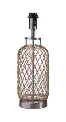 Основание Настольная лампа LampGustaf 104750 CAPE HORNМорской стиль<br>Настольная лампа – это не просто источник дополнительного освещения, но и оригинальный элемент декора. Его можно установить в спальне, гостиной, кабинете и других комнатах. Интернет-магазин «Светодом» предлагает настольные лампы разных стилей по доступным ценам. Благодаря большому ассортименту Вы обязательно найдете в нашем каталоге именно ту модель, которую искали.   Настольная лампа LampGustaf 104750 – прекрасный вариант для завершения интерьера. Ее можно включить одновременно с люстрой для более яркого освещения или без нее для создания уютной атмосферы, настраивающей на отдых.   Купить настольную лампу LampGustaf 104750 Вы можете с помощью виртуальной «Корзины» или по контактным номерам, указанным на сайте.<br><br>Тип лампы: накал-я - энергосбер-я<br>Тип цоколя: E27<br>Количество ламп: 1<br>Ширина, мм: 150<br>MAX мощность ламп, Вт: 60<br>Длина, мм: 150<br>Высота, мм: 470<br>Цвет арматуры: серебристый