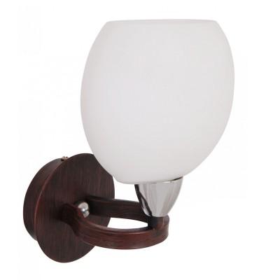 Светильник бра Lamplandia 2130 SpriteСовременные<br>Бра. Традиционная модель, темно-коричнеовго цвета из металла. Плафоны выполнены из стекла белого матового цвета. Очень стильная модель замечательно вписывается в любой интерьер.<br><br>S освещ. до, м2: 2<br>Крепление: потолочный<br>Тип лампы: накаливания / энергосбережения / LED-светодиодная<br>Тип цоколя: E14<br>Цвет арматуры: коричневый<br>Количество ламп: 1<br>Ширина, мм: 160<br>Длина, мм: 160<br>Высота, мм: 230<br>MAX мощность ламп, Вт: 40