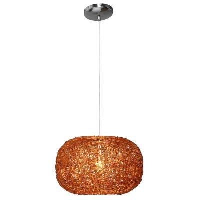Светильник Lamplandia 3069 Lares amberОдиночные<br>Подвес из  акрила коньячного цвета в этническом стиле. Подойдет к современному интерьеру, для кухни и  загородных помещений.<br><br>S освещ. до, м2: 3<br>Крепление: потолочный<br>Тип лампы: накаливания / энергосбережения / LED-светодиодная<br>Тип цоколя: E27<br>Цвет арматуры: серый<br>Количество ламп: 1<br>Диаметр, мм мм: 340<br>Высота, мм: 210 - 1200<br>MAX мощность ламп, Вт: 60