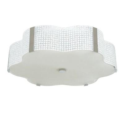 Люстра Lamplandia 3062-5 TokyoПотолочные<br>Люстра выполнена в японском стиле из металла цвета хром с белым матовым стеклом. Излучает мягкий рассеянный свет.<br><br>Установка на натяжной потолок: Ограничено<br>S освещ. до, м2: 6<br>Крепление: Планка<br>Тип лампы: накаливания / энергосбережения / LED-светодиодная<br>Тип цоколя: E27<br>Цвет арматуры: серебристый<br>Количество ламп: 3<br>Ширина, мм: 550<br>Длина, мм: 550<br>Высота, мм: 120<br>MAX мощность ламп, Вт: 60