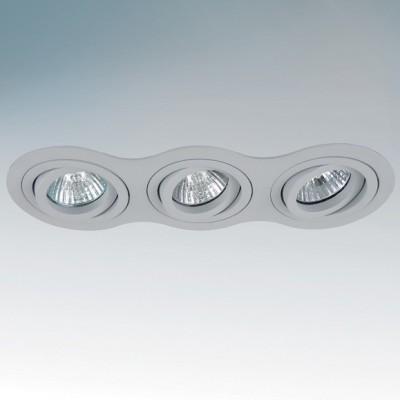 Lightstar INTERO 214239 СветильникДекоративные<br>Встраиваемые светильники – популярное осветительное оборудование, которое можно использовать в качестве основного источника или в дополнение к люстре. Они позволяют создать нужную атмосферу атмосферу и привнести в интерьер уют и комфорт.   Интернет-магазин «Светодом» предлагает стильный встраиваемый светильник Lightstar 214239. Данная модель достаточно универсальна, поэтому подойдет практически под любой интерьер. Перед покупкой не забудьте ознакомиться с техническими параметрами, чтобы узнать тип цоколя, площадь освещения и другие важные характеристики.   Приобрести встраиваемый светильник Lightstar 214239 в нашем онлайн-магазине Вы можете либо с помощью «Корзины», либо по контактным номерам. Мы доставляем заказы по Москве, Екатеринбургу и остальным российским городам.<br><br>Цветовая t, К: 2400-2800<br>Тип лампы: накаливания / энергосберегающая / светодиодная<br>Тип цоколя: GU10<br>Количество ламп: 3<br>Ширина, мм: 90<br>MAX мощность ламп, Вт: 50<br>Длина, мм: 255<br>Высота, мм: 4<br>Поверхность арматуры: матовый<br>Цвет арматуры: серый<br>Общая мощность, Вт: 150