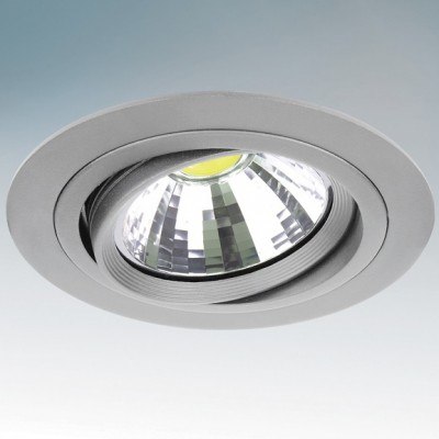 Lightstar INTERO 214319 СветильникКруглые LED<br>Встраиваемые светильники – популярное осветительное оборудование, которое можно использовать в качестве основного источника или в дополнение к люстре. Они позволяют создать нужную атмосферу атмосферу и привнести в интерьер уют и комфорт.   Интернет-магазин «Светодом» предлагает стильный встраиваемый светильник Lightstar 214319. Данная модель достаточно универсальна, поэтому подойдет практически под любой интерьер. Перед покупкой не забудьте ознакомиться с техническими параметрами, чтобы узнать тип цоколя, площадь освещения и другие важные характеристики.   Приобрести встраиваемый светильник Lightstar 214319 в нашем онлайн-магазине Вы можете либо с помощью «Корзины», либо по контактным номерам. Мы доставляем заказы по Москве, Екатеринбургу и остальным российским городам.<br><br>Тип товара: Светильник<br>Тип лампы: накаливания / энергосберегающая / светодиодная<br>Тип цоколя: DR111<br>Количество ламп: 1<br>MAX мощность ламп, Вт: 50<br>Диаметр, мм мм: 175<br>Высота, мм: 5<br>Поверхность арматуры: матовый<br>Цвет арматуры: серый