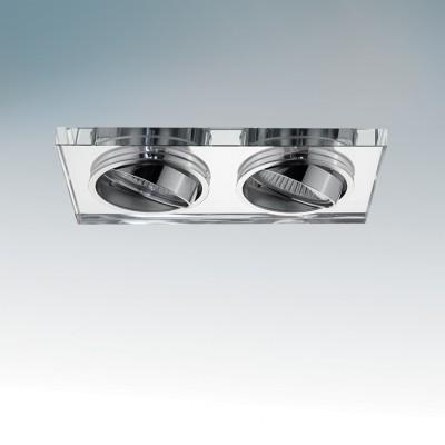Lightstar RIFLE 2544 СветильникДекоративные<br>Встраиваемые светильники – популярное осветительное оборудование, которое можно использовать в качестве основного источника или в дополнение к люстре. Они позволяют создать нужную атмосферу атмосферу и привнести в интерьер уют и комфорт.   Интернет-магазин «Светодом» предлагает стильный встраиваемый светильник Lightstar 2544. Данная модель достаточно универсальна, поэтому подойдет практически под любой интерьер. Перед покупкой не забудьте ознакомиться с техническими параметрами, чтобы узнать тип цоколя, площадь освещения и другие важные характеристики.   Приобрести встраиваемый светильник Lightstar 2544 в нашем онлайн-магазине Вы можете либо с помощью «Корзины», либо по контактным номерам. Мы доставляем заказы по Москве, Екатеринбургу и остальным российским городам.<br><br>Цветовая t, К: 2700<br>Тип лампы: галогеновая, светодиодная<br>Тип цоколя: GU10<br>Количество ламп: 2<br>MAX мощность ламп, Вт: 50<br>Диаметр, мм мм: 70<br>Высота, мм: 10<br>Поверхность арматуры: глянцевый, зеркальный<br>Цвет арматуры: серебристый<br>Общая мощность, Вт: 100