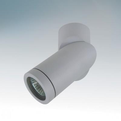 Lightstar ILLUMO 51019 СветильникОдиночные<br><br><br>Тип товара: Светильник<br>Цветовая t, К: 2700<br>Тип лампы: накаливания / энергосберегающая / светодиодная<br>Тип цоколя: GU10<br>Количество ламп: 1<br>MAX мощность ламп, Вт: 50<br>Диаметр, мм мм: 60<br>Высота, мм: 157<br>Поверхность арматуры: матовый<br>Цвет арматуры: серый