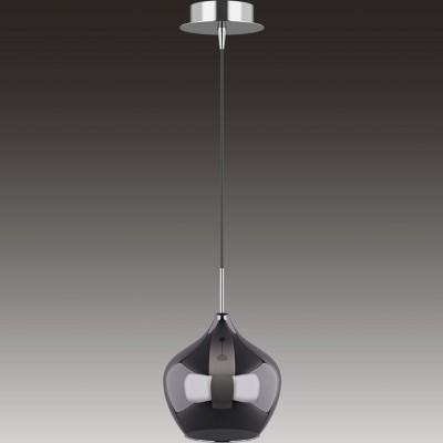 Lightstar PENTOLA 803047 Светильник подвеснойОдиночные<br><br><br>Тип товара: Светильник подвесной<br>Скидка, %: 2<br>Тип лампы: накаливания / энергосберегающая / светодиодная<br>Тип цоколя: G9<br>Количество ламп: 1<br>MAX мощность ламп, Вт: 40<br>Диаметр, мм мм: 200<br>Высота, мм: 1300<br>Поверхность арматуры: глянцевый<br>Цвет арматуры: серебристый хром
