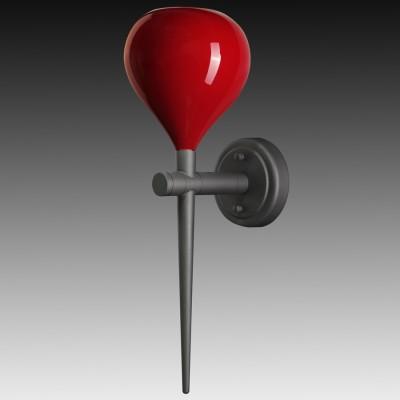 Lightstar FORMA 808652 Светильник настенный браМодерн<br><br><br>Цветовая t, К: 2400-2800<br>Тип лампы: накаливания / энергосберегающая / светодиодная<br>Тип цоколя: E14<br>Количество ламп: 1<br>Ширина, мм: 150<br>MAX мощность ламп, Вт: 40<br>Выступ, мм: 210<br>Высота, мм: 480<br>Поверхность арматуры: матовый<br>Цвет арматуры: черный