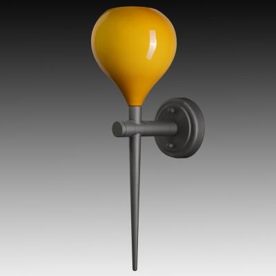 Lightstar FORMA 808653 Светильник настенный браСовременные<br><br><br>Цветовая t, К: 2400-2800<br>Тип лампы: накаливания / энергосберегающая / светодиодная<br>Тип цоколя: E14<br>Цвет арматуры: черный<br>Количество ламп: 1<br>Ширина, мм: 150<br>Выступ, мм: 210<br>Высота, мм: 480<br>Поверхность арматуры: матовый<br>MAX мощность ламп, Вт: 40