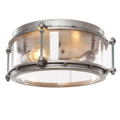 Ретро светильник Loft it 5097Потолочные<br><br><br>Установка на натяжной потолок: Ограничено<br>S освещ. до, м2: 4<br>Тип лампы: Накаливания / энергосбережения / светодиодная<br>Тип цоколя: E27<br>Количество ламп: 2<br>Диаметр, мм мм: 370<br>Высота, мм: 140<br>MAX мощность ламп, Вт: 40