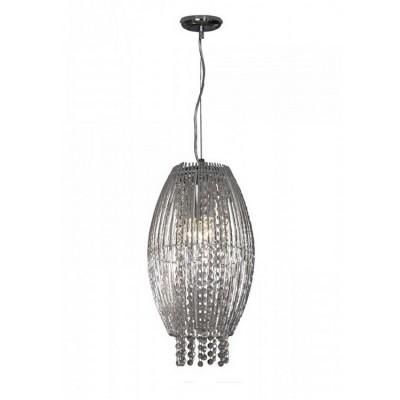 Светильник подвесной Lussole Lsc-8416-03Одиночные<br>Подвесной светильник Lussole Lsc-8416-03 станет прекрасным дополнением к световому оформлению современного интерьера. Плафон и подвески из высококачественного итальянского хрусталя формируют великолепную конструкцию люстры, отраженный многочисленными гранями свет красиво преломляется и образует неповторимое сияние, свойственное только хрустальным источникам света. Площадь освещения достигает 4 кв.м., поэтому наиболее оптимально использовать светильник в качестве подсветки небольшой зоны помещения.<br><br>S освещ. до, м2: 4<br>Тип лампы: накаливания / энергосбережения / LED-светодиодная<br>Тип цоколя: e14<br>Количество ламп: 3<br>MAX мощность ламп, Вт: 40<br>Диаметр, мм мм: 260мм<br>Высота, мм: 1400мм<br>Оттенок (цвет): серебристый<br>Цвет арматуры: серебристый