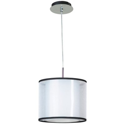 Светильник Lussole Lsf-2216-01Одиночные<br>Если Вы находитесь в поиске осветительного прибора в стиле «модерн» для создания подсветки небольшой площади с высоким потолком, то рекомендуем обратить внимание на итальянский подвесной светильник Lussole Lsf-2216-01. «Минималистичная» конструкция прекрасно сочетается с универсальной черно-белой цветовой гаммой, а металлический подвес эффектно контрастирует с плафоном, выполненным из ткани, создавая яркий, запоминающийся образ! Чтобы пространство комнаты выглядело «цельным», продуманным и совершенным, используйте всю серию Lussole Lsf 22: люстру, настольную лампу, настенные бра и торшер.<br><br>S освещ. до, м2: 3<br>Тип лампы: накаливания / энергосбережения / LED-светодиодная<br>Тип цоколя: e27<br>Количество ламп: 1<br>MAX мощность ламп, Вт: 60<br>Диаметр, мм мм: 280мм<br>Высота, мм: 1200мм<br>Оттенок (цвет): белый<br>Цвет арматуры: серебристый