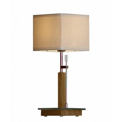 Настольная лампа Lussole LSF-2504-01 MONTONEСовременные настольные лампы модерн<br>Настольная лампа Lussole Lsf-2504-01 гармонична в своём геометрическом исполнении и выбранном стиле модерн, лаконичном и искусном! Каждая деталь изделия пропитана благородством пропорций, форм и линий. Использование в производстве настоящего дерева – важное преимущество настольной лампы Lussole Lsf-2504-01. Во-первых, это плюс в пользу экологичности продукта, во-вторых, неотъемлемая составляющая престижа. Основными геометрическими формами выбраны квадраты и прямоугольники различных размеров и расположений относительно друг друга, что привносит стильную чёткость, строгость и некую классичность в современном обрамлении, грамотно воссозданную в Lussole Lsf-2504-01.<br><br>S освещ. до, м2: 3<br>Тип лампы: накаливания / энергосбережения / LED-светодиодная<br>Тип цоколя: E27<br>Цвет арматуры: серебристый<br>Количество ламп: 1<br>Ширина, мм: 180<br>Высота, мм: 460<br>Оттенок (цвет): Кремовый<br>MAX мощность ламп, Вт: 60