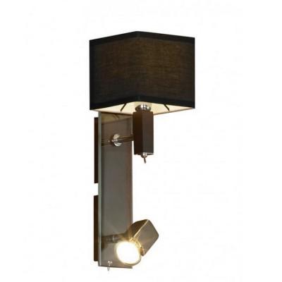 Светильник Lussole Lsf-2571-02Модерн<br>В интернет-магазине «Светодом» представлен широкий выбор настенных бра по привлекательной цене. Это качественные товары от популярных мировых производителей. Благодаря большому ассортименту Вы обязательно подберете под свой интерьер наиболее подходящий вариант.  Оригинальное настенное бра Lussole LSF-2571-02 можно использовать для освещения не только гостиной, но и прихожей или спальни. Модель выполнена из современных материалов, поэтому прослужит на протяжении долгого времени. Обратите внимание на технические характеристики, чтобы сделать правильный выбор.  Чтобы купить настенное бра Lussole LSF-2571-02 в нашем интернет-магазине, воспользуйтесь «Корзиной» или позвоните менеджерам компании «Светодом» по указанным на сайте номерам. Мы доставляем заказы по Москве, Екатеринбургу и другим российским городам.<br><br>Тип цоколя: E14 + Gu10<br>Количество ламп: 1+1<br>MAX мощность ламп, Вт: 40+50
