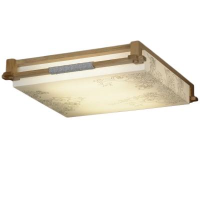 Люстра квардратная Lussole Lsf-9102-02Прямоугольные<br>Настенно-потолочные светильники – это универсальные осветительные варианты, которые подходят для вертикального и горизонтального монтажа. В интернет-магазине «Светодом» Вы можете приобрести подобные модели по выгодной стоимости. В нашем каталоге представлены как бюджетные варианты, так и эксклюзивные изделия от производителей, которые уже давно заслужили доверие дизайнеров и простых покупателей. <br>Настенно-потолочный светильник Lussole LSF-9102-02 станет прекрасным дополнением к основному освещению. Благодаря качественному исполнению и применению современных технологий при производстве эта модель будет радовать Вас своим привлекательным внешним видом долгое время. <br>Приобрести настенно-потолочный светильник Lussole LSF-9102-02 можно, находясь в любой точке России.<br><br>S освещ. до, м2: 3<br>Тип лампы: люминисцентная<br>Тип цоколя: 2G11<br>Цвет арматуры: деревянный<br>Количество ламп: 2<br>Ширина, мм: 540<br>Длина, мм: 490<br>Высота, мм: 130<br>MAX мощность ламп, Вт: 24