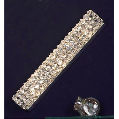 Светильник настенно-потолочный Lussole LSL-8701-03 StintinoДлинные<br>Итальянский настенно-потолочный светильник Lussole Lsl-8701-03 прекрасно дополнит интерьер в стиле «модерн»! Хрустальный плафон привлекает к себе внимание и завораживает неповторимым, «искрящимся» освещением, которое всегда будет создавать в комнате положительную энергетику и дарить Вам отличное настроение. «Вытянутая» форма особенно выигрышно впишется в качестве подсветки похожих по силуэту деталей интерьера, например, настенного зеркала, картины, стеклянной полки с сувенирами и т.п. Рекомендуем использовать светильник совместно с другими хрустальными источниками света, чтобы пространство выглядело «цельным», уютным и стильным.<br><br>S освещ. до, м2: 6<br>Тип лампы: галогенная / LED-светодиодная<br>Тип цоколя: G9<br>Цвет арматуры: серебристый<br>Количество ламп: 3<br>Ширина, мм: 430мм<br>Выступ, мм: 90мм<br>Высота, мм: 70мм<br>Оттенок (цвет): Бесцветный<br>MAX мощность ламп, Вт: 40