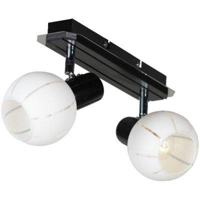 Светильник Lussole Lsl-8901-02Двойные<br>Светильники-споты – это оригинальные изделия с современным дизайном. Они позволяют не ограничивать свою фантазию при выборе освещения для интерьера. Такие модели обеспечивают достаточно качественный свет. Благодаря компактным размерам Вы можете использовать несколько спотов для одного помещения.  Интернет-магазин «Светодом» предлагает необычный светильник-спот Lussole LSL-8901-02 по привлекательной цене. Эта модель станет отличным дополнением к люстре, выполненной в том же стиле. Перед оформлением заказа изучите характеристики изделия.  Купить светильник-спот Lussole LSL-8901-02 в нашем онлайн-магазине Вы можете либо с помощью формы на сайте, либо по указанным выше телефонам. Обратите внимание, что мы предлагаем доставку не только по Москве и Екатеринбургу, но и всем остальным российским городам.<br><br>S освещ. до, м2: 4<br>Тип лампы: Накаливания<br>Тип цоколя: e14<br>Количество ламп: 2<br>Ширина, мм: 300мм<br>MAX мощность ламп, Вт: 40<br>Выступ, мм: 190мм<br>Высота, мм: 130мм<br>Оттенок (цвет): белый<br>Цвет арматуры: серебристый