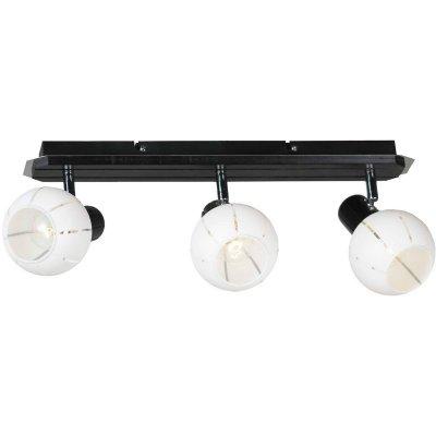 Светильник Lussole Lsl-8901-03Тройные<br>Светильники-споты – это оригинальные изделия с современным дизайном. Они позволяют не ограничивать свою фантазию при выборе освещения для интерьера. Такие модели обеспечивают достаточно качественный свет. Благодаря компактным размерам Вы можете использовать несколько спотов для одного помещения.  Интернет-магазин «Светодом» предлагает необычный светильник-спот Lussole LSL-8901-03 по привлекательной цене. Эта модель станет отличным дополнением к люстре, выполненной в том же стиле. Перед оформлением заказа изучите характеристики изделия.  Купить светильник-спот Lussole LSL-8901-03 в нашем онлайн-магазине Вы можете либо с помощью формы на сайте, либо по указанным выше телефонам. Обратите внимание, что мы предлагаем доставку не только по Москве и Екатеринбургу, но и всем остальным российским городам.<br><br>S освещ. до, м2: 6<br>Тип лампы: Накаливания<br>Тип цоколя: e14<br>Количество ламп: 3<br>Ширина, мм: 460мм<br>MAX мощность ламп, Вт: 40<br>Выступ, мм: 190мм<br>Высота, мм: 130мм<br>Оттенок (цвет): белый<br>Цвет арматуры: серебристый