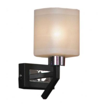 Светильник Lussole Lsl-9001-01Модерн<br>В интернет-магазине «Светодом» представлен широкий выбор настенных бра по привлекательной цене. Это качественные товары от популярных мировых производителей. Благодаря большому ассортименту Вы обязательно подберете под свой интерьер наиболее подходящий вариант.  Оригинальное настенное бра Lussole LSL-9001-01 можно использовать для освещения не только гостиной, но и прихожей или спальни. Модель выполнена из современных материалов, поэтому прослужит на протяжении долгого времени. Обратите внимание на технические характеристики, чтобы сделать правильный выбор.  Чтобы купить настенное бра Lussole LSL-9001-01 в нашем интернет-магазине, воспользуйтесь «Корзиной» или позвоните менеджерам компании «Светодом» по указанным на сайте номерам. Мы доставляем заказы по Москве, Екатеринбургу и другим российским городам.<br><br>S освещ. до, м2: 2<br>Тип лампы: накаливания / энергосбережения / LED-светодиодная<br>Тип цоколя: E14<br>Количество ламп: 1<br>Ширина, мм: 100<br>MAX мощность ламп, Вт: 40<br>Расстояние от стены, мм: 140<br>Высота, мм: 230