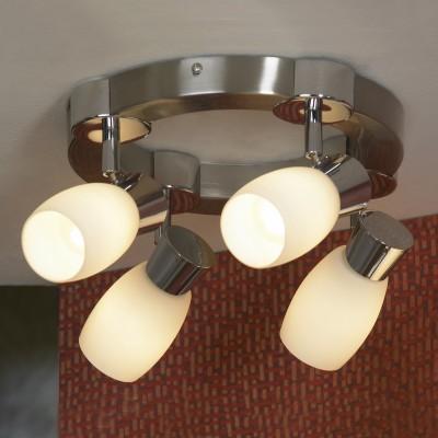 Светильник Lussole Lsq-2601-04С 4 лампами<br>Светильники-споты – это оригинальные изделия с современным дизайном. Они позволяют не ограничивать свою фантазию при выборе освещения для интерьера. Такие модели обеспечивают достаточно качественный свет. Благодаря компактным размерам Вы можете использовать несколько спотов для одного помещения.  Интернет-магазин «Светодом» предлагает необычный светильник-спот Lussole LSQ-2601-04 по привлекательной цене. Эта модель станет отличным дополнением к люстре, выполненной в том же стиле. Перед оформлением заказа изучите характеристики изделия.  Купить светильник-спот Lussole LSQ-2601-04 в нашем онлайн-магазине Вы можете либо с помощью формы на сайте, либо по указанным выше телефонам. Обратите внимание, что у нас склады не только в Москве и Екатеринбурге, но и других городах России.<br><br>S освещ. до, м2: 11<br>Тип лампы: накал-я - энергосбер-я<br>Тип цоколя: E14<br>Количество ламп: 4<br>MAX мощность ламп, Вт: 40<br>Цвет арматуры: серый