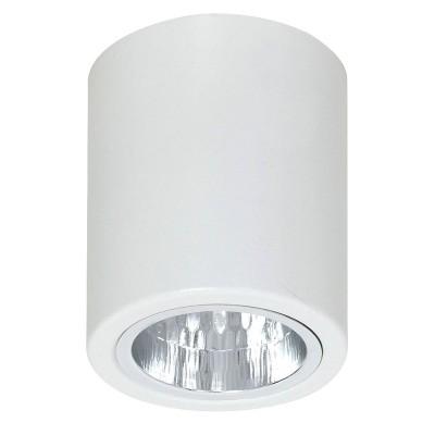 Luminex DOWNLIGHT ROUND 7234 потолочный светильникНакладные точечные<br><br><br>S освещ. до, м2: 3<br>Крепление: Потолочное<br>Тип цоколя: E27<br>Цвет арматуры: Белый<br>Количество ламп: 1<br>Диаметр, мм мм: 90<br>Размеры: размер коробки 9,5x9,5x11,5см.<br>Высота, мм: 112<br>MAX мощность ламп, Вт: 60