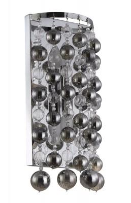 Купить со скидкой Светильник настенный бра Crystal lux MALLORCA AP2 CHROME/SMOKE 2320/402