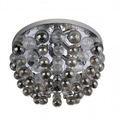Светильник потолочный Crystal lux MALLORCA PL8 CHROME/SMOKE 2320/108люстры флористика потолочные<br>Компания «Светодом» предлагает широкий ассортимент люстр от известных производителей. Представленные в нашем каталоге товары выполнены из современных материалов и обладают отличным качеством. Благодаря широкому ассортименту Вы сможете найти у нас люстру под любой интерьер. Мы предлагаем как классические варианты, так и современные модели, отличающиеся лаконичностью и простотой форм.  Стильная люстра Crystal lux MALLORCA PL8 CHROME/SMOKE станет украшением любого дома. Эта модель от известного производителя не оставит равнодушным ценителей красивых и оригинальных предметов интерьера. Люстра Crystal lux MALLORCA PL8 CHROME/SMOKE обеспечит равномерное распределение света по всей комнате. При выборе обратите внимание на характеристики, позволяющие приобрести наиболее подходящую модель. Купить понравившуюся люстру по доступной цене Вы можете в интернет-магазине «Светодом».<br><br>Установка на натяжной потолок: Да<br>S освещ. до, м2: 24<br>Тип цоколя: E14<br>Цвет арматуры: Серебристый хром<br>Количество ламп: 8<br>Диаметр, мм мм: 600<br>Высота, мм: 360<br>MAX мощность ламп, Вт: 60