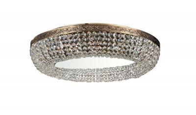 Люстра Maytoni MIR543-60AY-G Lunaхрустальные потолочные люстры<br>Если вам нужен осветительный прибор для помещения больших размеров, то предлагаем вам рассмотреть вариант, изображенный на фото. Хрустальная люстра Maytoni Diamant Crystal MIR543-60AY-G имеет восемь лампочек, которые не вошли в комплект. Состоит люстра из металлического каркаса с рисунком и хрусталя. Немецкая компания Maytoni предлагает вам хрустальную люстру золотого цвета, выполненную в классическом стиле. Осветительный прибор сделан из высококачественных материалов, о чем говорит его стоимость. Купить это красивое изделие от Майтони вы можете у нас по цене, указанной на сайте.<br><br>Установка на натяжной потолок: Ограничено<br>S освещ. до, м2: 27<br>Крепление: Планка<br>Тип лампы: накаливания / энергосбережения / LED-светодиодная<br>Тип цоколя: E27<br>Цвет арматуры: золотой<br>Количество ламп: 8<br>Диаметр, мм мм: 600<br>Высота полная, мм: 135<br>Поверхность арматуры: глянцевая<br>Оттенок (цвет): золото<br>MAX мощность ламп, Вт: 60<br>Общая мощность, Вт: 480