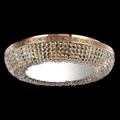 Люстра Maytoni MIR543-60AY-G Lunaхрустальные потолочные люстры<br>Если вам нужен осветительный прибор для помещения больших размеров, то предлагаем вам рассмотреть вариант, изображенный на фото. Хрустальная люстра Maytoni Diamant Crystal MIR543-60AY-G имеет восемь лампочек, которые не вошли в комплект. Состоит люстра из металлического каркаса с рисунком и хрусталя. Немецкая компания Maytoni предлагает вам хрустальную люстру золотого цвета, выполненную в классическом стиле. Осветительный прибор сделан из высококачественных материалов, о чем говорит его стоимость. Купить это красивое изделие от Майтони вы можете у нас по цене, указанной на сайте.<br><br>Установка на натяжной потолок: Ограничено<br>S освещ. до, м2: 32<br>Крепление: Планка<br>Тип лампы: накаливания / энергосбережения / LED-светодиодная<br>Тип цоколя: E27<br>Цвет арматуры: золотой<br>Количество ламп: 8<br>Диаметр, мм мм: 600<br>Высота, мм: 200<br>MAX мощность ламп, Вт: 60