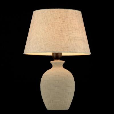 Настольная Лампа Maytoni MOD003-11-WСовременные<br>Настольная лампа – это не просто источник дополнительного освещения, но и оригинальный элемент декора. Его можно установить в спальне, гостиной, кабинете и других комнатах. Интернет-магазин «Светодом» предлагает настольные лампы разных стилей по доступным ценам. Благодаря большому ассортименту Вы обязательно найдете в нашем каталоге именно ту модель, которую искали. <br> Настольная лампа Maytoni MOD003-11-W – прекрасный вариант для завершения интерьера. Ее можно включить одновременно с люстрой для более яркого освещения или без нее для создания уютной атмосферы, настраивающей на отдых. <br> Купить настольную лампу Maytoni MOD003-11-W Вы можете с помощью виртуальной «Корзины» или по контактным номерам, указанным на сайте.<br><br>Тип лампы: Накаливания / энергосбережения / светодиодная<br>Тип цоколя: E27<br>Цвет арматуры: бежевый<br>Количество ламп: 1<br>Диаметр, мм мм: 255<br>Высота, мм: 360<br>MAX мощность ламп, Вт: 60