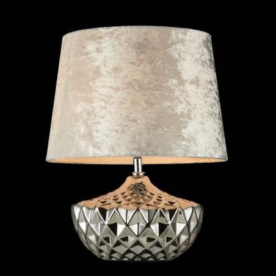 Настольная лампа Maytoni Z006-TL-01-W АdelineСовременные настольные лампы модерн<br>Настольная лампа – это не просто источник дополнительного освещения, но и оригинальный элемент декора. Его можно установить в спальне, гостиной, кабинете и других комнатах. Интернет-магазин «Светодом» предлагает настольные лампы разных стилей по доступным ценам. Благодаря большому ассортименту Вы обязательно найдете в нашем каталоге именно ту модель, которую искали. <br> Настольная лампа Maytoni Z006-TL-01-W – прекрасный вариант для завершения интерьера. Ее можно включить одновременно с люстрой для более яркого освещения или без нее для создания уютной атмосферы, настраивающей на отдых. <br> Купить настольную лампу Maytoni Z006-TL-01-W Вы можете с помощью виртуальной «Корзины» или по контактным номерам, указанным на сайте.<br><br>Тип лампы: Накаливания / энергосбережения / светодиодная<br>Тип цоколя: E27<br>Цвет арматуры: серебристый<br>Количество ламп: 1<br>Диаметр, мм мм: 310<br>Высота, мм: 400<br>MAX мощность ламп, Вт: 60