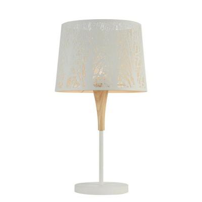 Настольная лампа Maytoni MOD029-TL-01-W LanternФлористика<br><br><br>Тип цоколя: E27<br>Цвет арматуры: Белый<br>Количество ламп: 1<br>Диаметр, мм мм: 350<br>Высота, мм: 620<br>MAX мощность ламп, Вт: 40